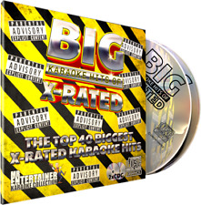 XRATED Karaoke. Mr Entertainer Big Hits Double CD+G/CDG Disc Set. Rude but Funny