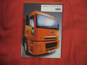 Rare Ford Cargo 2009 catalog truck brochure prospekt