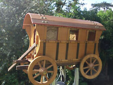 More details for large gypsy style wooden caravan model.........