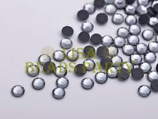 500pcs Ss16 4mm 12 Facets DMC Hotfix Iron on Rhinestones Crystal Gray