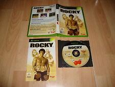 ROCKY DE RAGE VIDEOJUEGO DE BOXEO PARA LA PRIMERA XBOX USADO COMPLETO