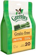 GREENIES™ Grain Free Natural Dog Dental Treats - Petite, 12oz (43 treats)