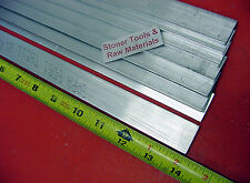 "8 Pieces 1/8"" X 1-1/2"" ALUMINUM 6061 FLAT BAR 14"" long .125"" Plate Mill Stock"