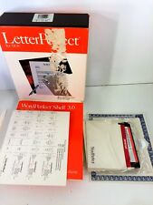LetterPerfect for Dos Lite WordPerfect in Box 5 1/4 Floppies Version 1.0