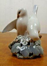 "Vintage Royal Copenhagen Porcelain Love Birds 402 Figurine 5.5"" Denmark c1970"