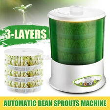 3-Layer 4-Mode Auto Homemade Bean Sprouts green Cereal Machine Season Modes