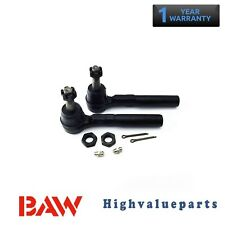 2PC Front Outer Tie Rod End for 99-04 Olds Alero 05-07 Saturn Relay MES3455