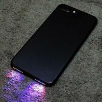 Phone LED Light Lamp Music Night Glow Horn Loud Speaker For iPhone 6 Plus 7 Plus