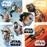 Star Wars Stickers x 5 - Party Loot Birthday Favours Rise of Skywalker Stickers