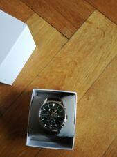 SEIKO Quartz Herren Uhr Chronograph SNAF09P1 / in der BOX Grünes Zifffernblatt