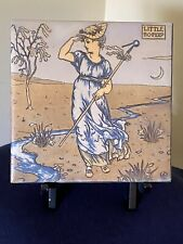 """Little Bo-Peep Vintage Tile with Walter Crane Image by Mosaic Tile Co. 6"""" X 6"""""""