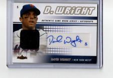 2005 Fleer Authentic Player Autographs #DW2 David Wright Auto Jersey /100