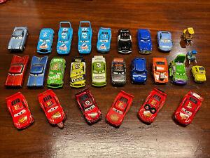 Mixed Lot of 26 Disney Pixar Cars Movie All Metal Diecast Vehicle Toys