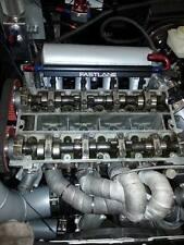 Einspritzleiste Aluminium Fastlane CNC billet Rail Opel c20let Turbo Noir