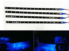 4X Waterproof Blue 15LED 30CM LED Flexible Light Strip For ATV UTV Off-road