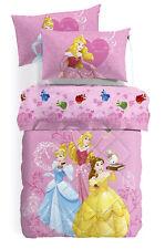 Parure Lenzuola Principesse Gioia Cenerentola Aurora Digitale Disney Caleffi