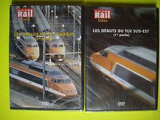 DVD RARE la vie du rail   LES DEBUTS  DU TGV  SUD -EST   neuf  /   2 DVD