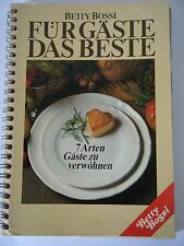 Betty Bossi Cook Book Kochbuch Fur Gaste Das Beste from Switzerland