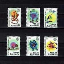 Briefmarken Olympische Spiele  Surinam postfrisch