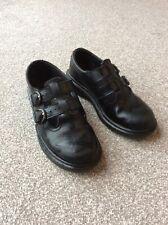 Girls Black Doc Martens Shoes Size 1
