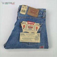 Jeans coton Levi's 505 pour homme
