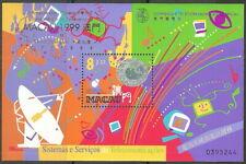Macau - Telekommunikationssysteme Block 67 I postfrisch 1999 Mi. 1026