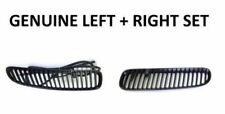 GENUINE BMW E53 X5 2004-2006 OEM Matt Black Grille Inlet Pair for Hood NEW