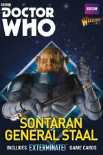 SONTARAN GENERAL STAAL - DR WHO - WARLORD GAMES - EXTERMINATE