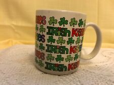 Vintage Enesco Irish KiSses Mug 1986 Chris Davenport