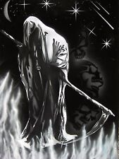 Grim Reaper 2 Airbrush Stencil Multi Layer Template Spray Vision *Best Designs*