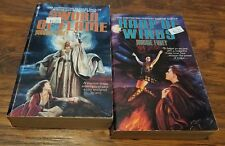 Lot of 2 Maggie Furey paperbacks, Sword of Flame, Harp of Winds