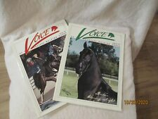 Voice Of The Tenessee Walking Horse 2 issues Vintage august and february 1996