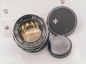 Sears 55mm F1.4 M42 Screw Mount Prime Lens Mamiya/Tomioka