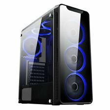 Fast Gaming PC Computer Bundle Intel Quad Core i5 16GB 1TB Win 10 2GB GT710 6FAN