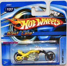 HOT WHEELS 2006 BLAST LANE #137 SHORT CARD