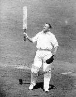 Signed Photograph Of Australian Cricketer Don Bradman 1930 OLD CRICKET PHOTO