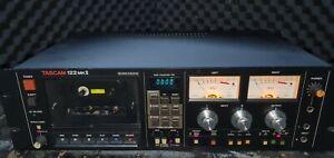 Tascam 122MkII cassette deck - Refurbished. 100% Working.