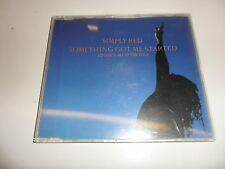 CD   Simply Red  – Something Got Me Started (I'd Give It All Up For You)