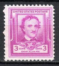 USA - 1949 Edgar Allen Poe (writer) - Mi. 600 MNH