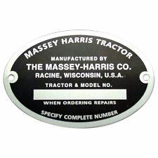 Serial Number Tag 22 30 30 44 55 101 102 Sr Jr Mustang Massey Harris 058