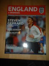 2004 Inghilterra Danimarca V-International FR @ OLD TRAFFORD MANCHESTER UNITED