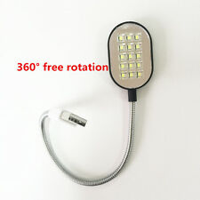 LED Portable Flexible USB Light Computer Lamp for Notebook PC Laptop Reading New