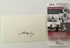 Anthony Kennedy Signed Autographed 3x5 Card JSA Certified Supreme Court Justice