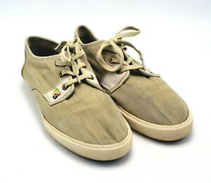 Margaritaville Free Time Parrot Head Canvas Sneakers MG1217B Shoes Mens SIZE 8.5