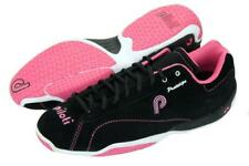 New Men's Piloti Prototipo Suede Leather Driving Racing Shoes Size 10 Black/Pink