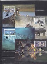 Congo 2006 - Maxi Cards - Dieren / Animals / Tiere  (WWF / WNF)