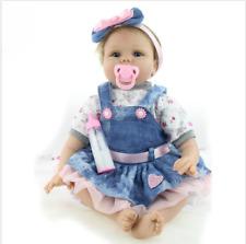 Newborn Reborn Baby Girl Doll (Only Clothes + Headband) Clothing Fancy Dress UK