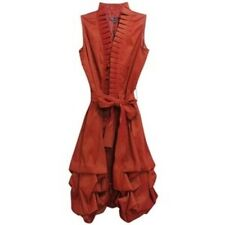 Samuel Dong Sienna Pleated Collar Pickup Dress - Large - New w/ Tags
