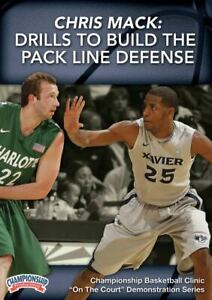 Chris Mack: Drills to Build the Pack Line Defense Basketball Coaching DVD
