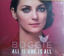 """NEW HUNGARY EUROVISION 2015 ENTRY BOGGIE """"ALL IS ONE IS ALL"""" CD"""